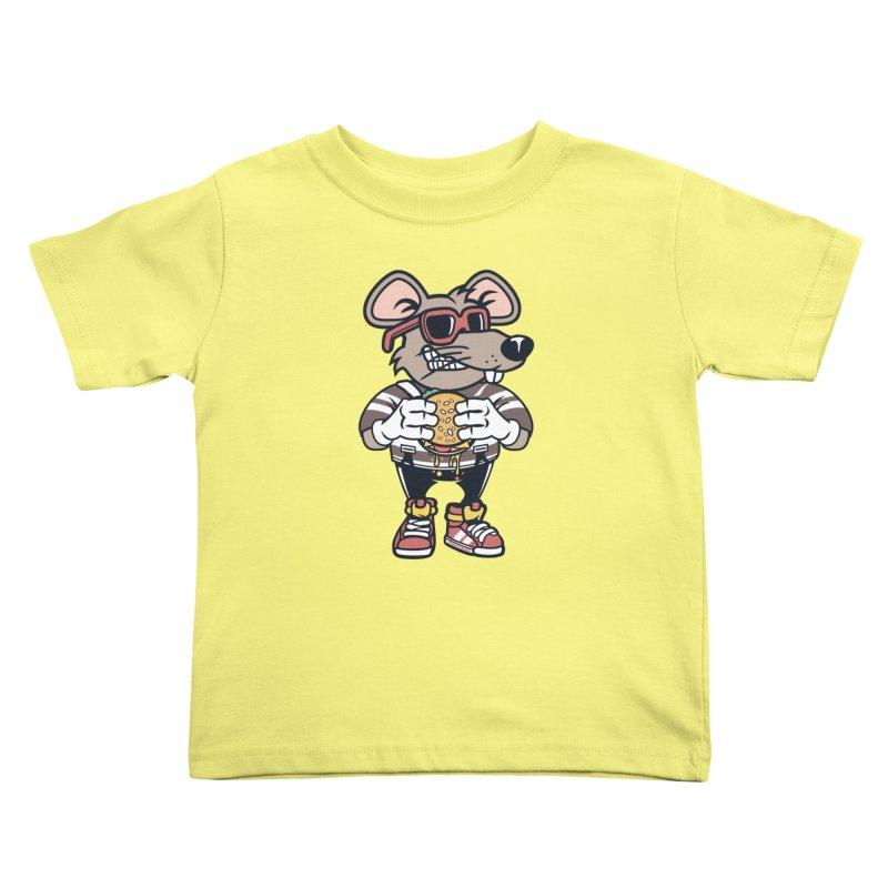 Rat Burglar Kids Toddler T-Shirt by WackyToonz