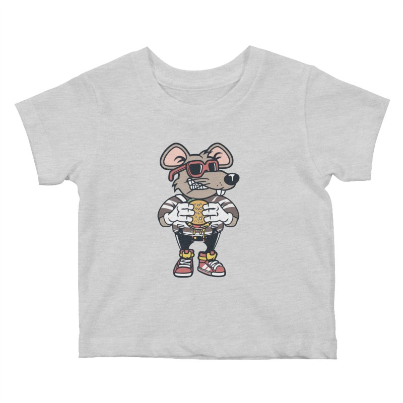 Rat Burglar Kids Baby T-Shirt by WackyToonz
