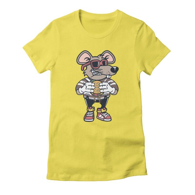 Rat Burglar Women's T-Shirt by WackyToonz