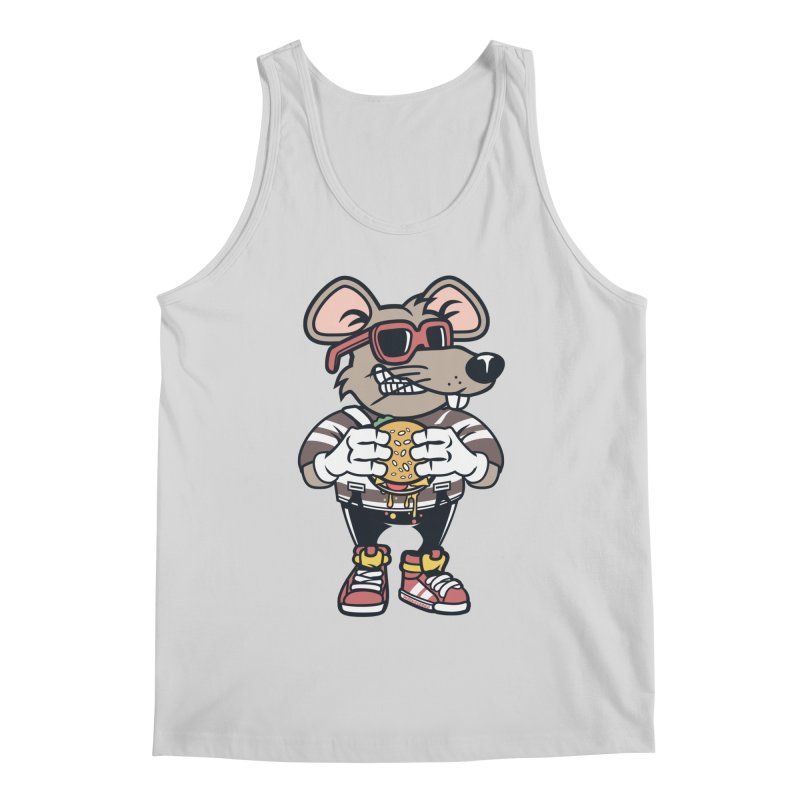 Rat Burglar Men's Regular Tank by WackyToonz
