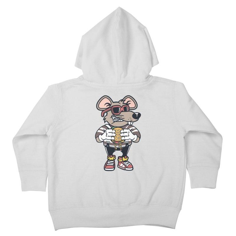 Rat Burglar Kids Toddler Zip-Up Hoody by WackyToonz