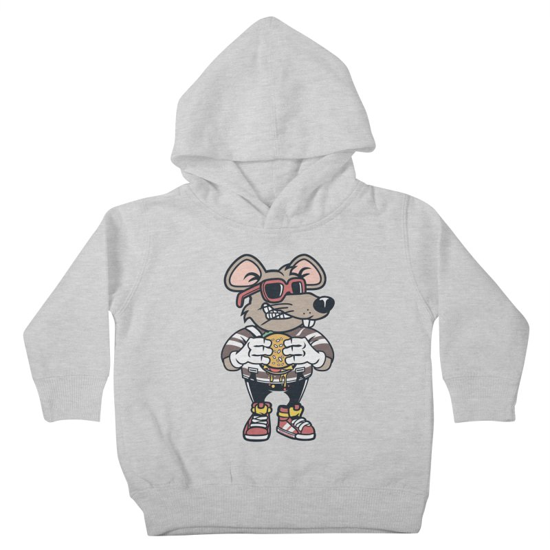 Rat Burglar Kids Toddler Pullover Hoody by WackyToonz
