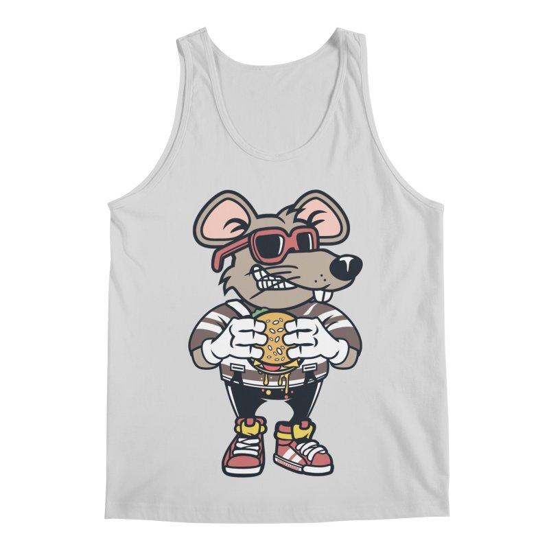 Rat Burglar Men's Regular Tank by WackyToonz
