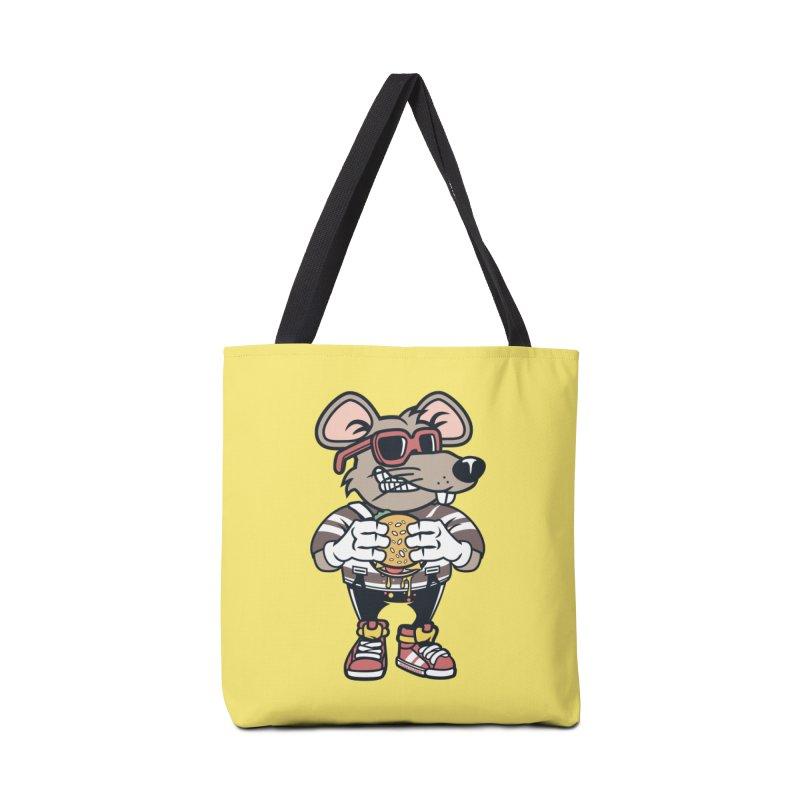 Rat Burglar Accessories Tote Bag Bag by WackyToonz