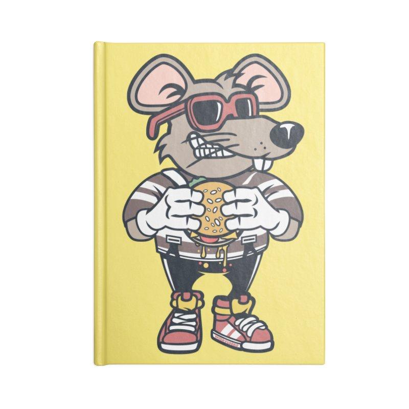 Rat Burglar Accessories Blank Journal Notebook by WackyToonz