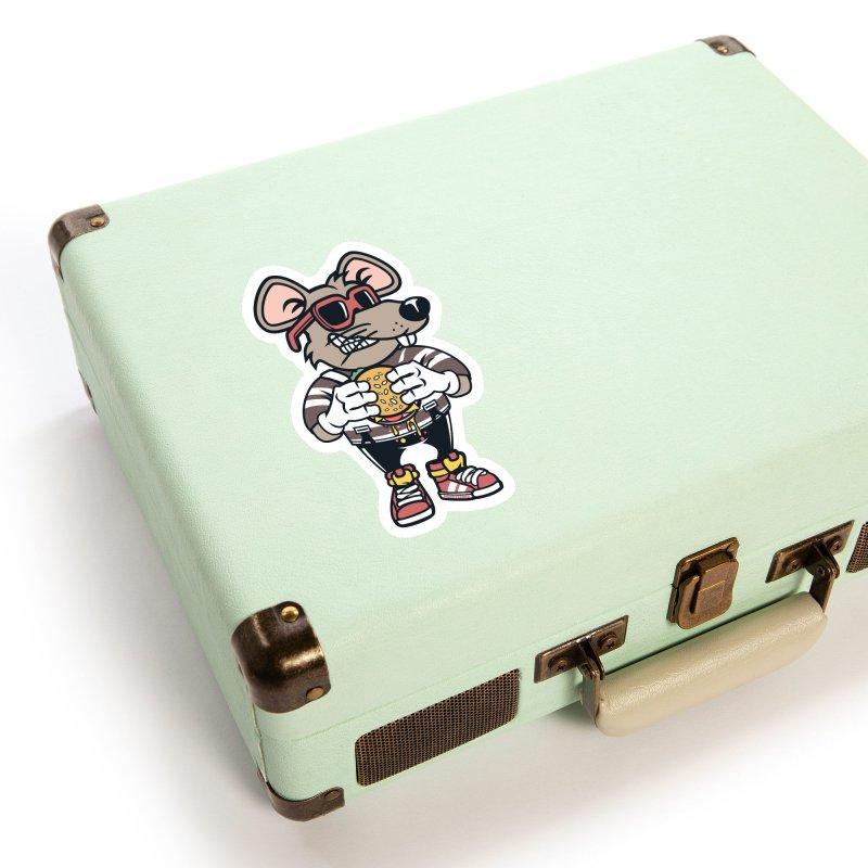 Rat Burglar Accessories Sticker by WackyToonz