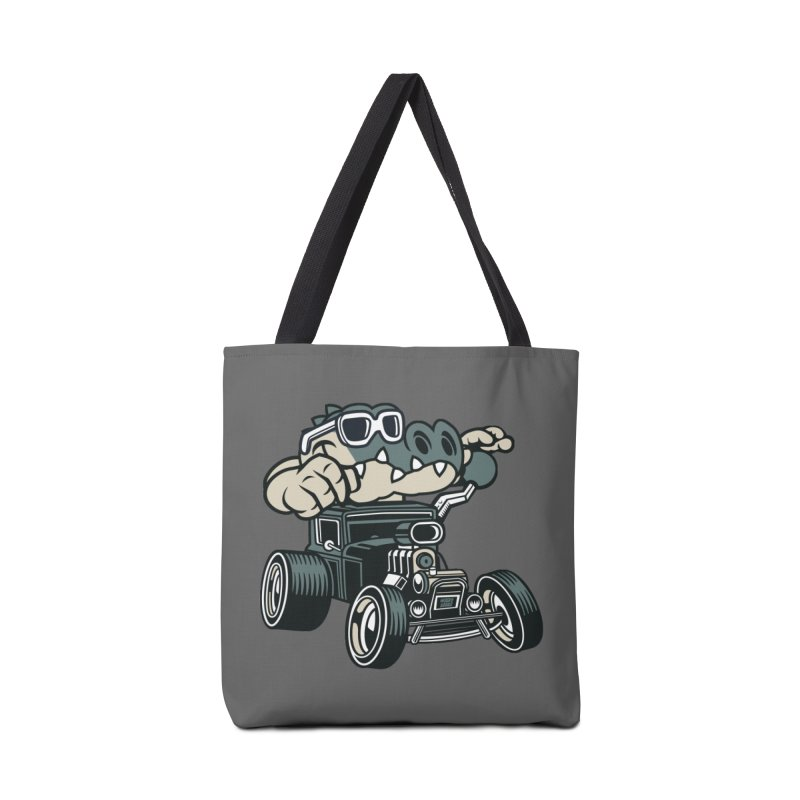 Swamp Rod Accessories Tote Bag Bag by WackyToonz