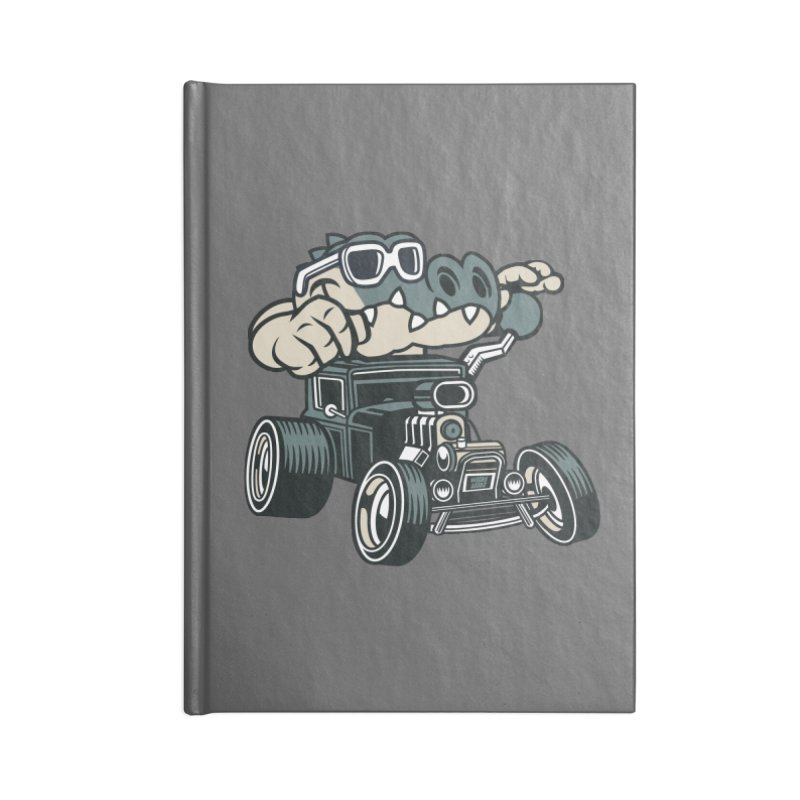 Swamp Rod Accessories Lined Journal Notebook by WackyToonz