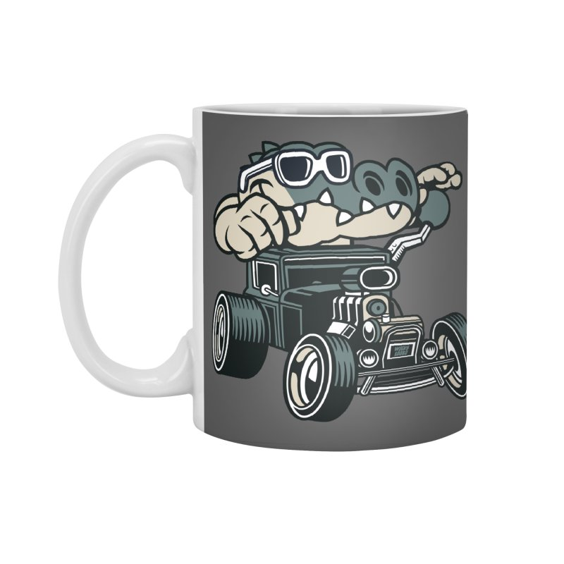 Swamp Rod Accessories Standard Mug by WackyToonz