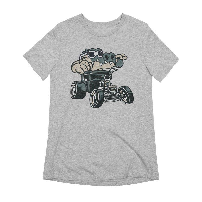 Swamp Rod Women's Extra Soft T-Shirt by WackyToonz