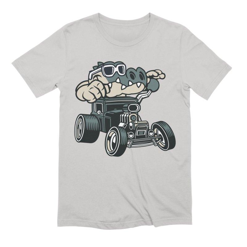 Swamp Rod Men's Extra Soft T-Shirt by WackyToonz