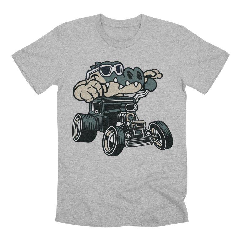 Swamp Rod Men's Premium T-Shirt by WackyToonz