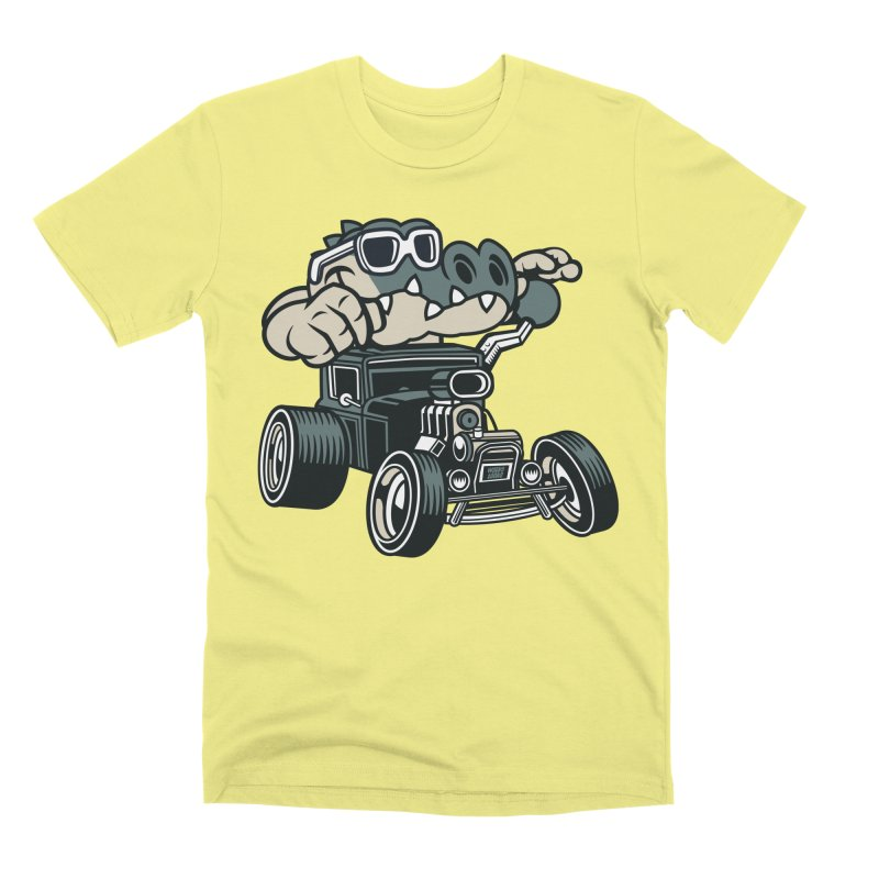 Swamp Rod Men's Premium T-Shirt by WackyToonz