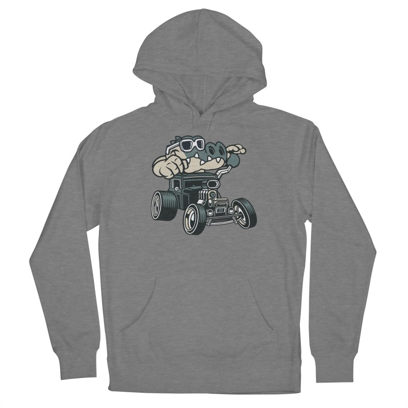 Swamp Rod Men's French Terry Pullover Hoody by WackyToonz