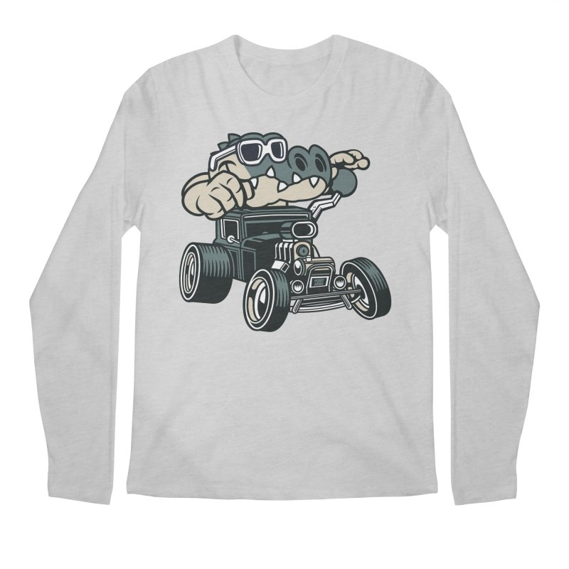 Swamp Rod Men's Regular Longsleeve T-Shirt by WackyToonz