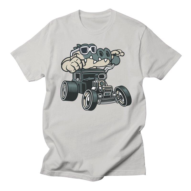 Swamp Rod Men's Regular T-Shirt by WackyToonz