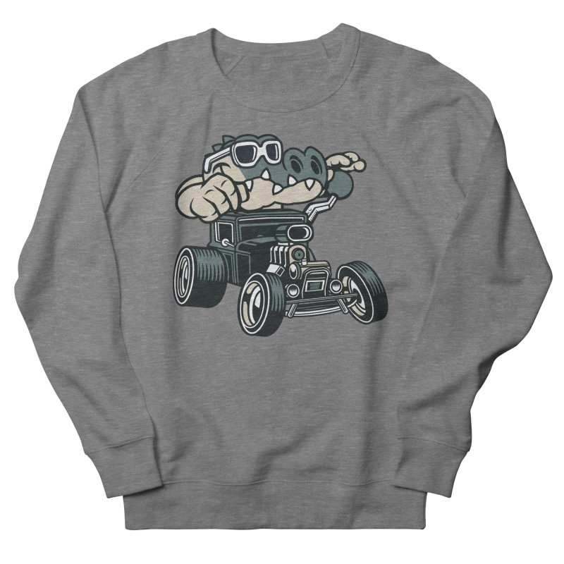 Swamp Rod Men's French Terry Sweatshirt by WackyToonz