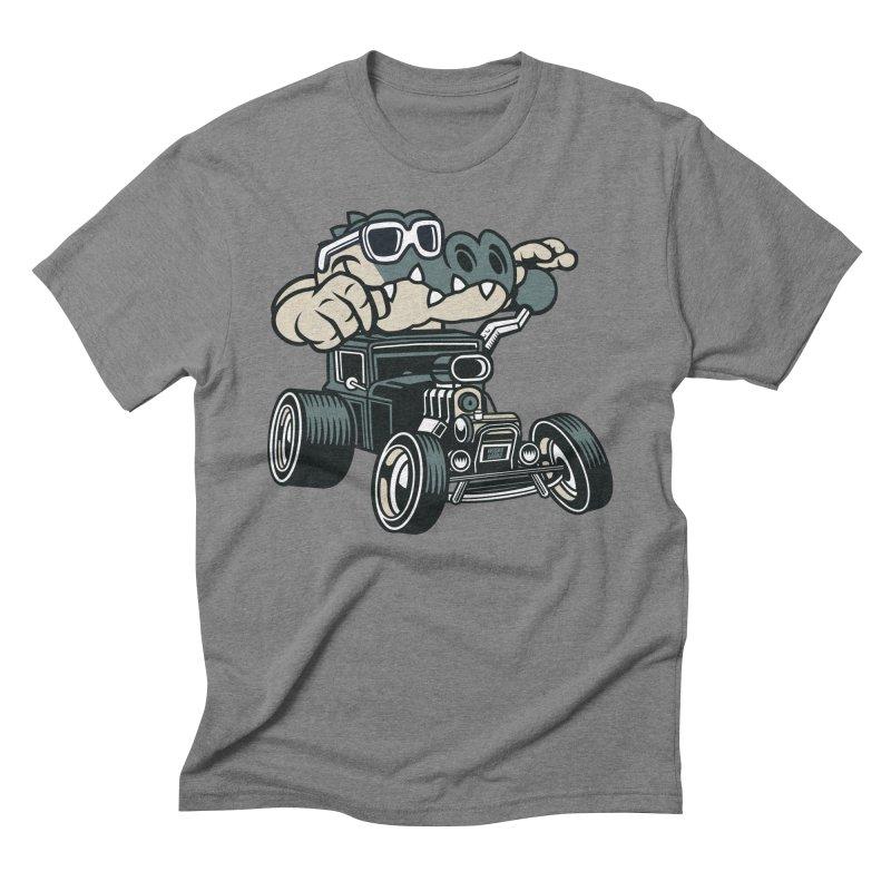 Swamp Rod Men's Triblend T-Shirt by WackyToonz