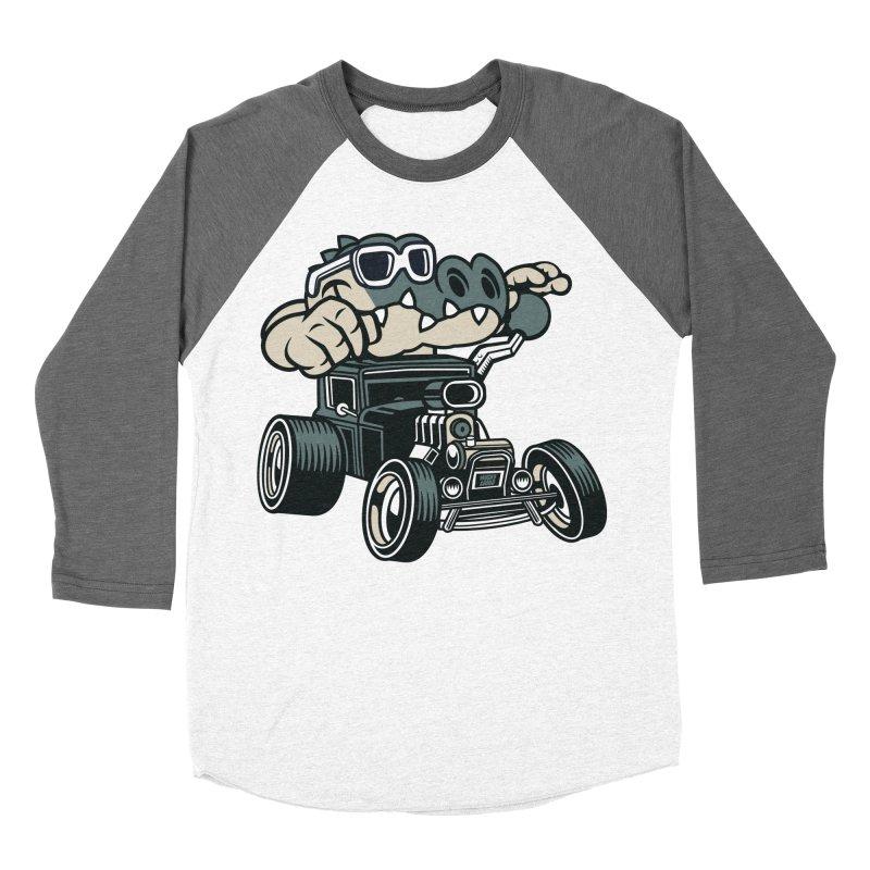 Swamp Rod Women's Baseball Triblend Longsleeve T-Shirt by WackyToonz