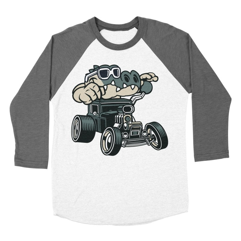 Swamp Rod Men's Baseball Triblend Longsleeve T-Shirt by WackyToonz