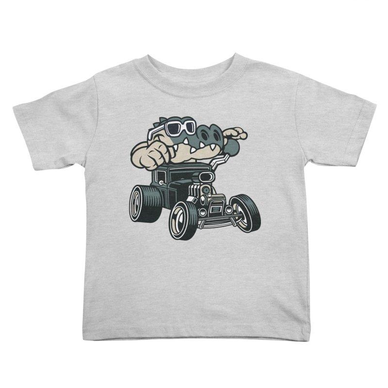 Swamp Rod Kids Toddler T-Shirt by WackyToonz
