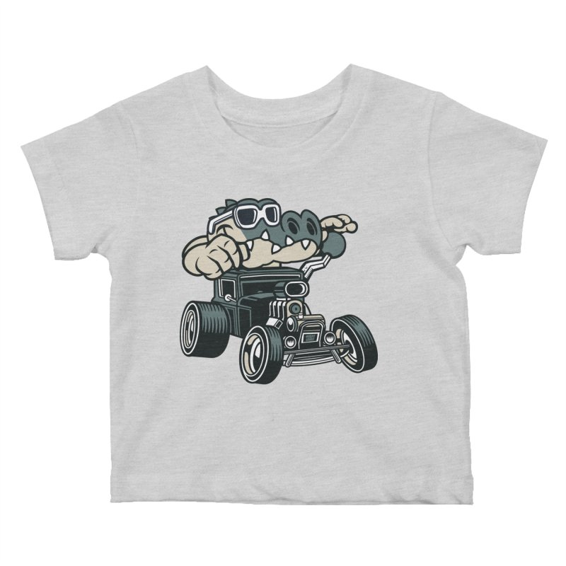 Swamp Rod Kids Baby T-Shirt by WackyToonz