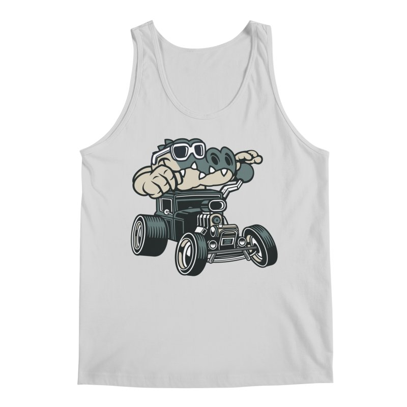 Swamp Rod Men's Regular Tank by WackyToonz