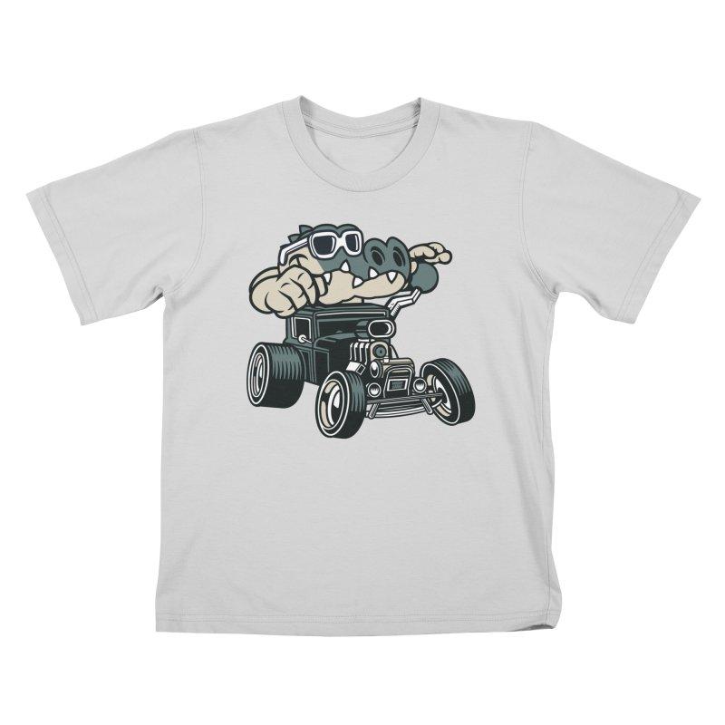 Swamp Rod Kids T-Shirt by WackyToonz