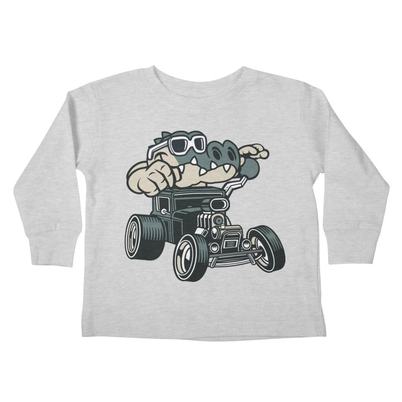 Swamp Rod Kids Toddler Longsleeve T-Shirt by WackyToonz