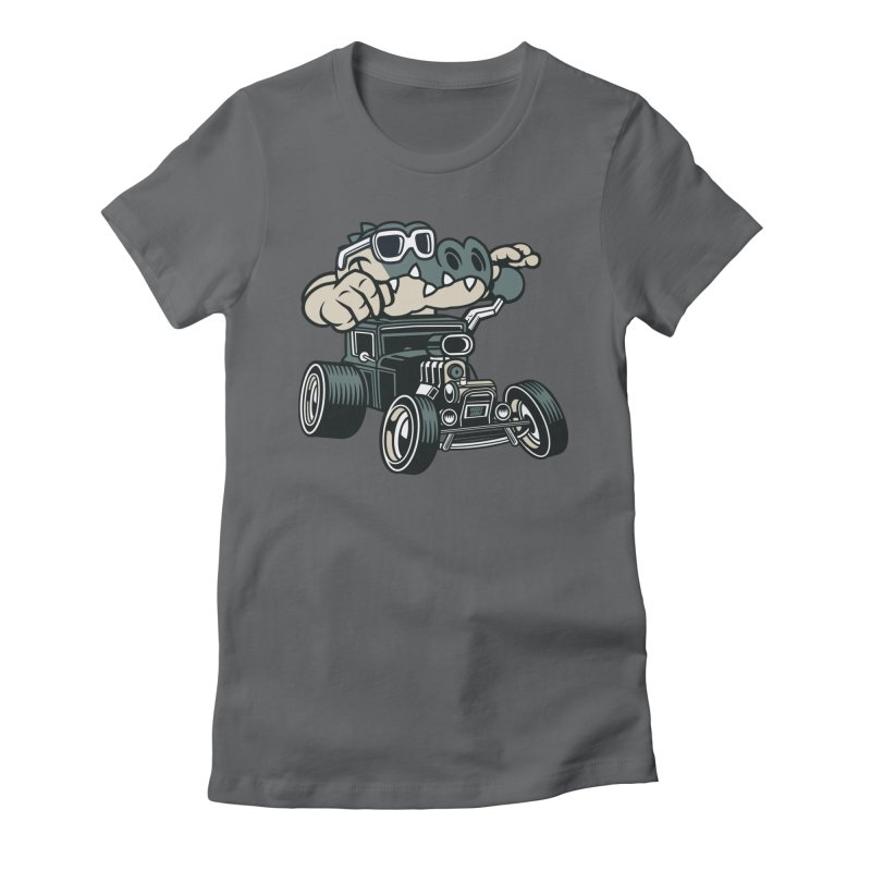 Swamp Rod Women's Fitted T-Shirt by WackyToonz