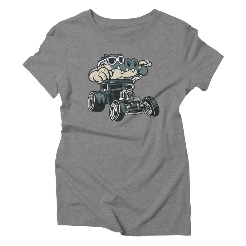 Swamp Rod Women's Triblend T-Shirt by WackyToonz