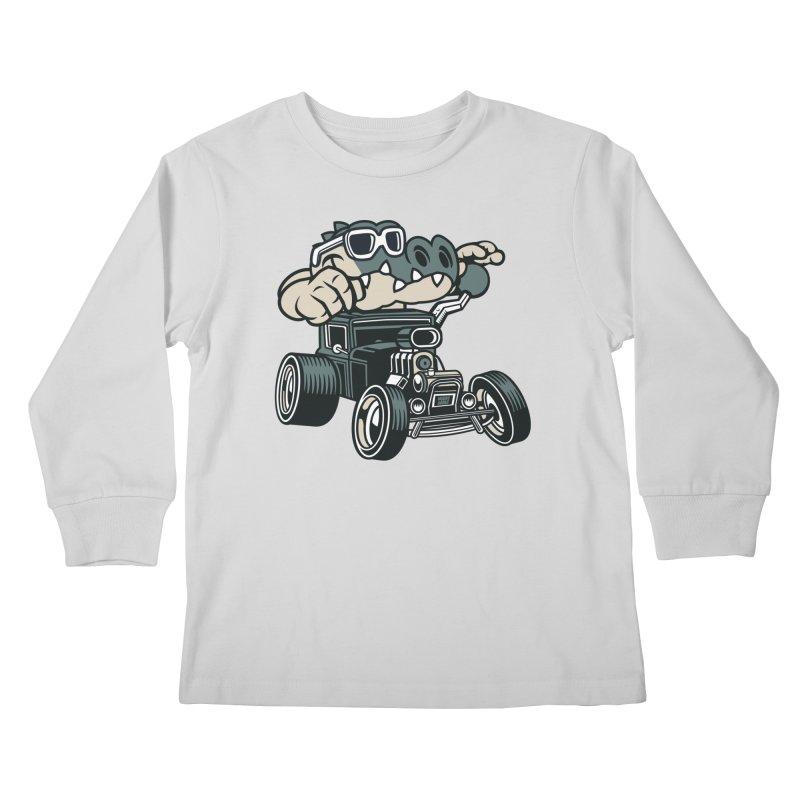 Swamp Rod Kids Longsleeve T-Shirt by WackyToonz