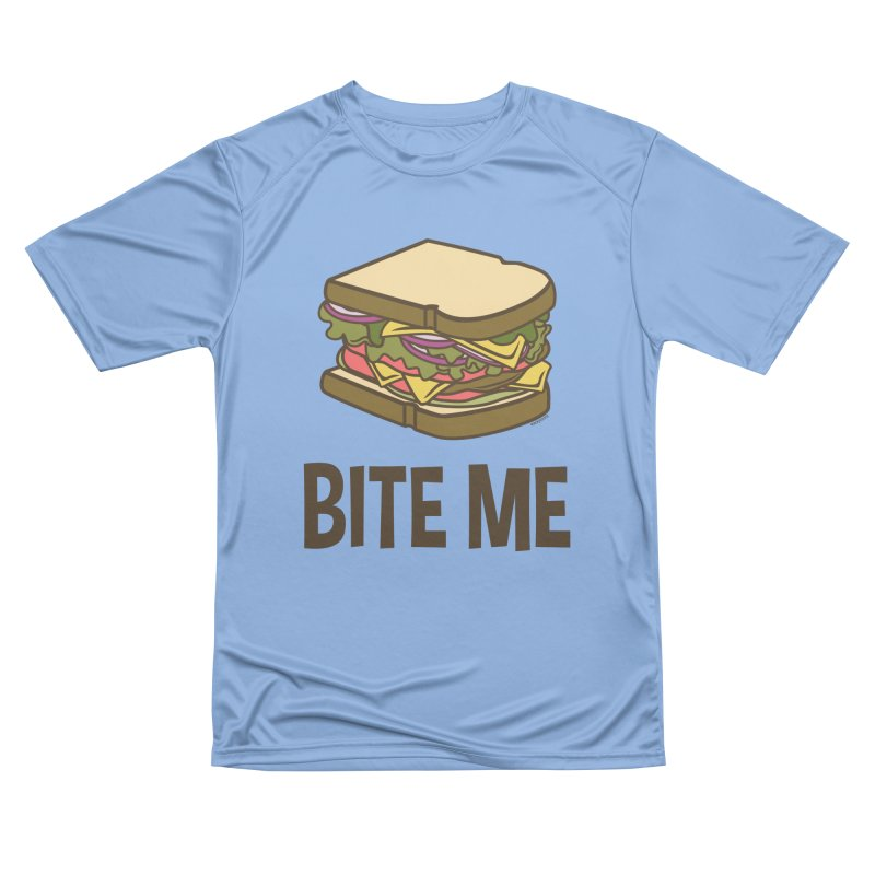 Bite Me Men's Performance T-Shirt by WackyToonz