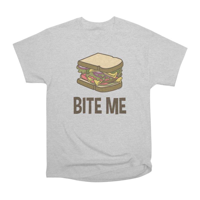 Bite Me Men's Heavyweight T-Shirt by WackyToonz