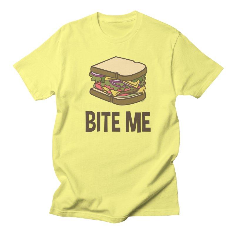 Bite Me Women's Regular Unisex T-Shirt by WackyToonz