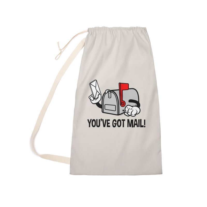 You've Got Mail Accessories Laundry Bag Bag by WackyToonz