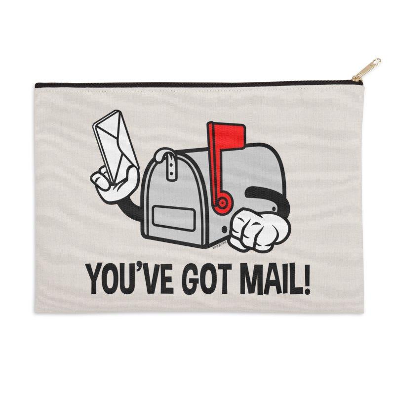 You've Got Mail Accessories Zip Pouch by WackyToonz