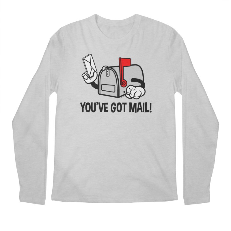 You've Got Mail Men's Regular Longsleeve T-Shirt by WackyToonz