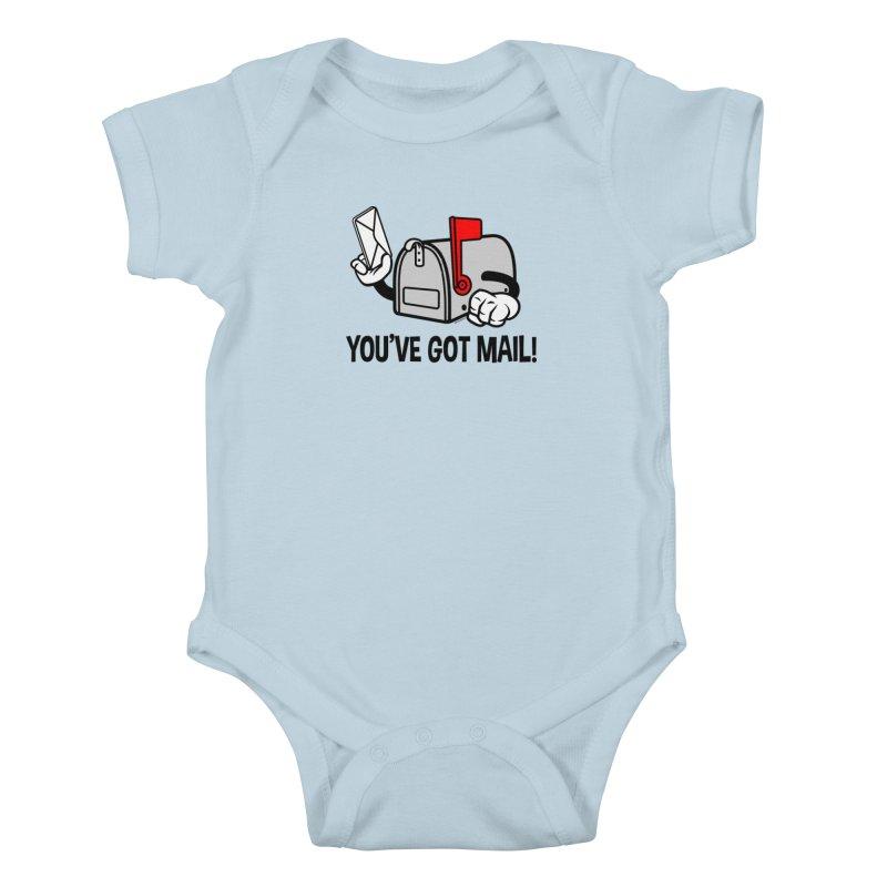 You've Got Mail Kids Baby Bodysuit by WackyToonz