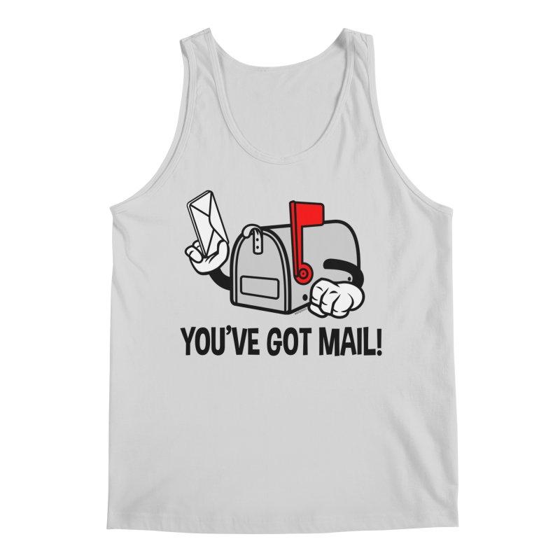 You've Got Mail Men's Regular Tank by WackyToonz