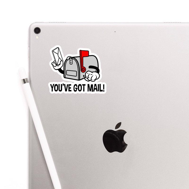 You've Got Mail Accessories Sticker by WackyToonz