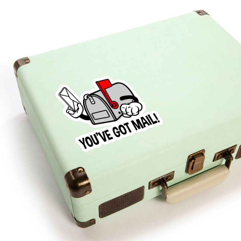 You've Got Mail Accessories Sticker by WackyToonz