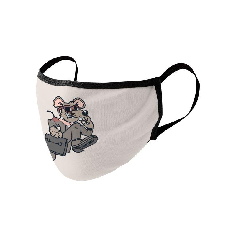 Rat Race Escape Accessories Face Mask by WackyToonz