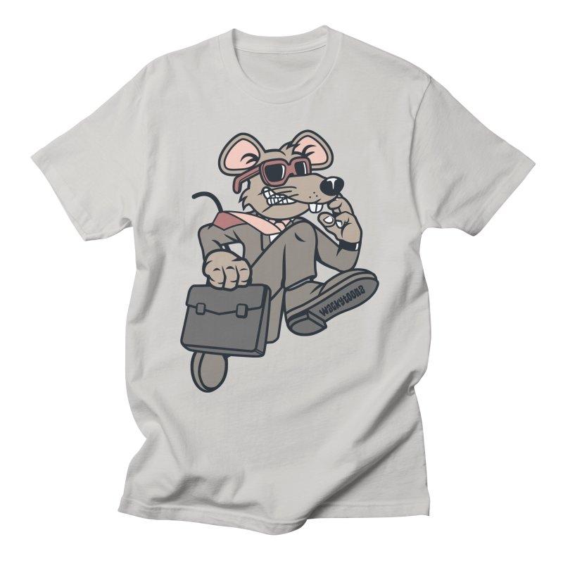 Rat Race Escape Men's T-Shirt by WackyToonz