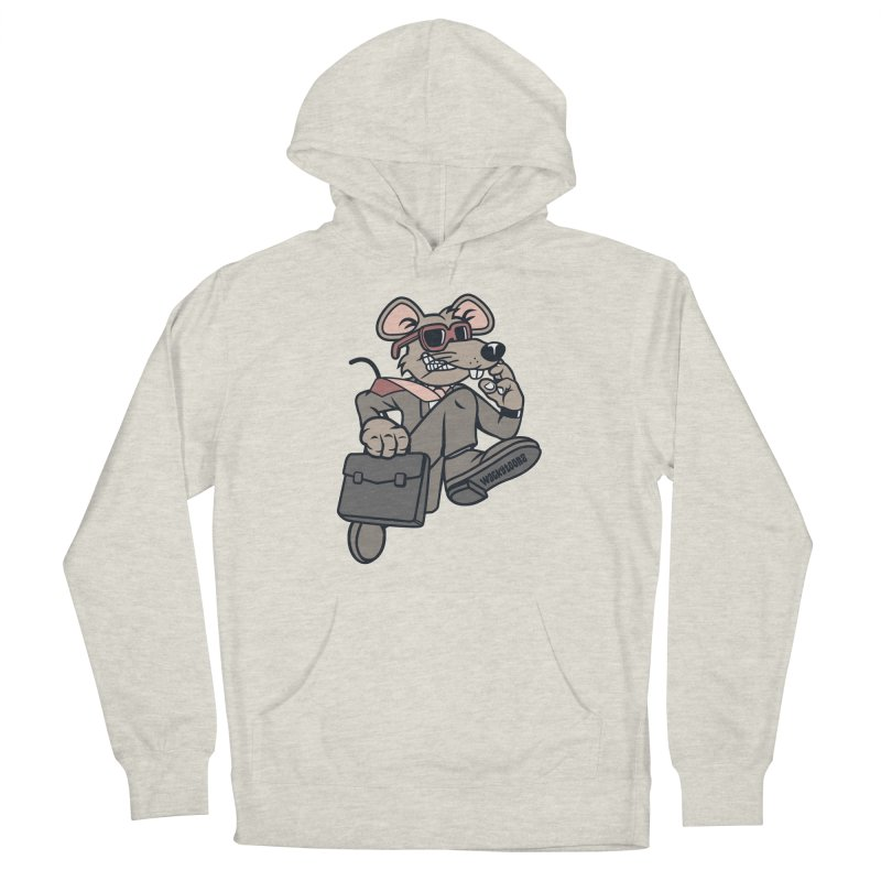 Rat Race Escape Men's French Terry Pullover Hoody by WackyToonz