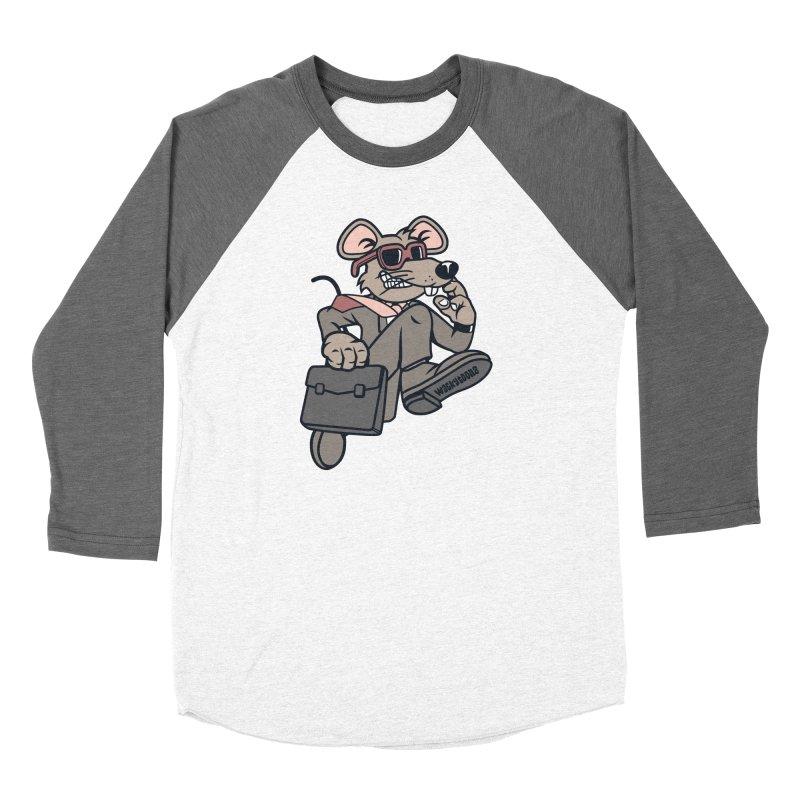 Rat Race Escape Men's Baseball Triblend Longsleeve T-Shirt by WackyToonz