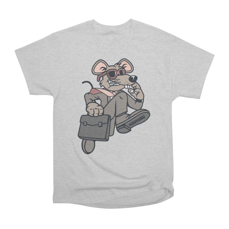 Rat Race Escape Women's Heavyweight Unisex T-Shirt by WackyToonz