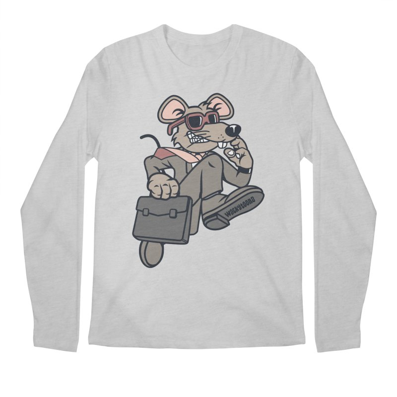 Rat Race Escape Men's Regular Longsleeve T-Shirt by WackyToonz