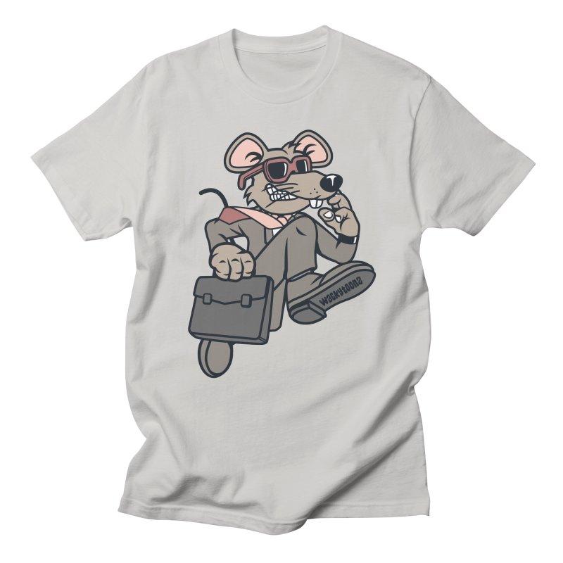 Rat Race Escape Men's Regular T-Shirt by WackyToonz