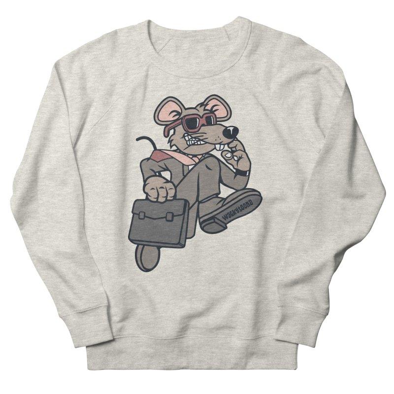 Rat Race Escape Women's French Terry Sweatshirt by WackyToonz